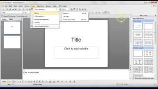 Kingsoft Presentation Free – video tutorial