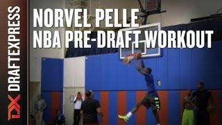 Norvel Pelle - 2013 NBA Pre Draft Workout & Interview