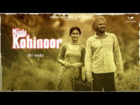 Video Munda Kohinoor | Veet Baljit | Nick Dhammu | Full Video | Latest Punjabi Song 2018 | State Studio download in MP3, 3GP, MP4, WEBM, AVI, FLV January 2017