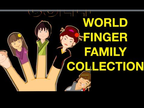 Finger - World Finger Family Collection : French Finger Family,Russian Finger Family,Spanish Finger Family,German Finger Family,Japanese Finger Family,Chinese Finger ...