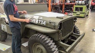 Video Willys Jeep Restoration Short Time Lapse - [No Music] MP3, 3GP, MP4, WEBM, AVI, FLV Juni 2019