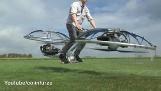 The idea of creating a flying motorcycle Hoverbayka without control and brakes. The vehicle is quite simple in its structure. On the iron frame with two engi...