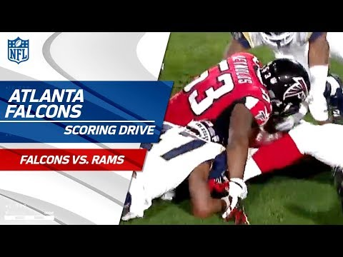 Video: LA Can't Field the Punt Leading to Atlanta's Scoring Drive! | Falcons vs. Rams | NFL Wild Card HLs