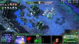 TvZ Kas Vs Nerchio Starcraft 2 Stream HD Polski Komentarz