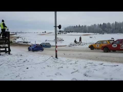 Edijs Ošs cīņā pret Audi Quattro (видео)