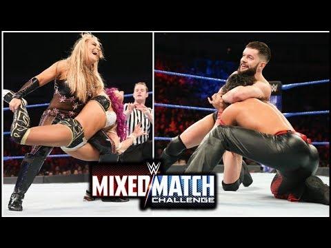 WWE MIXED MATCH Balor & sasa vs Nakamura & Natalya - wwe mixed match challenge 2018 | wrestling Tube
