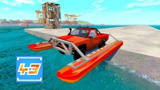 We're back in BeamNG Drive to test an Amphibious Car! Will it float, will to survive a massive fall onto water? Let's find out.If you want to become a Team 43 Member and be notified when I post a new video, MAKE SURE TO SUBSCRIBE!: https://goo.gl/M1F1GOMERCH.....https://represent.com/store/olli43Twitter......................►https://twitter.com/ollihullFacebook.................►http://facebook.com/olli43ytInstagram................►http://instagram.com/olli43ytWebsite....................►http://olli43.comSubreddit.................►http://reddit.com/r/olli43