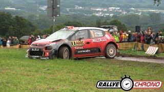 WRC ADAC Rallye Deutschland 2017 [HD] - Crash & Mistakes by RallyeChrono Au menu de la vidéo des passages flat out et les...