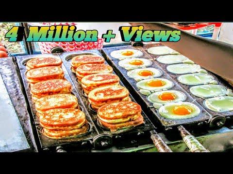 Egg Cake-Amazing street food from eggs  Street Food   Dhaka   Bangladesh AroundTime 360