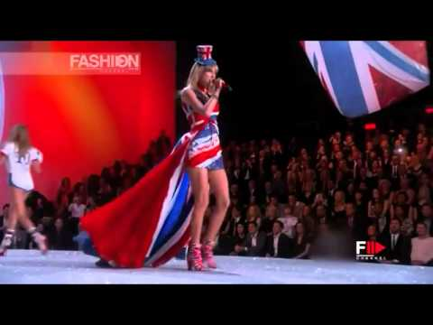 Light Em Up - Fall Out Boy Ft. Taylor Swift | Victoria's Secret Fashion Show 2013