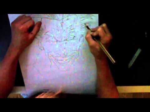 Speed Drawing The Joker - DC COMIC