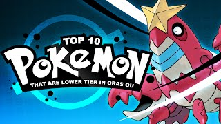 Top 10 Non-OU Pokémon Viable in OU: Competitive Analysis by Thunder Blunder 777