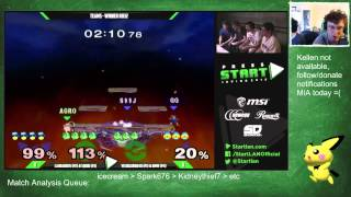 Squid does match analysis of his infamous Press Start doubles game[Laudandus & Squid v Weedlord & NMW]