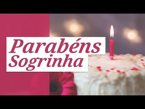 Msg de aniversário - Parabéns, Sogrinha! (Mensagem de Aniversário para Sogra)