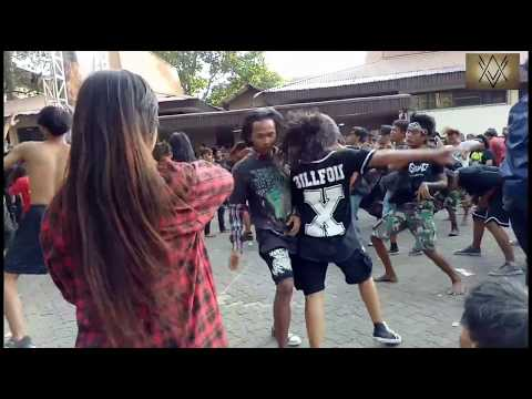 Indonesia Death Fest#2 at.bulungan blok m (видео)