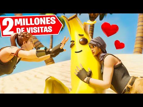 Dibujos de amor - UNA BANANA CON DOS NOVIAS?!  Película de Fortnite (HISTORIA DE AMOR)