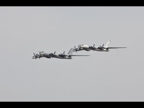#F22Jets #Tu95Bear #NORAD #Russia  Two...