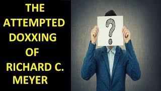 Video The Attempted Doxxing of Diversity & Comics (Richard C. Meyer) MP3, 3GP, MP4, WEBM, AVI, FLV November 2018