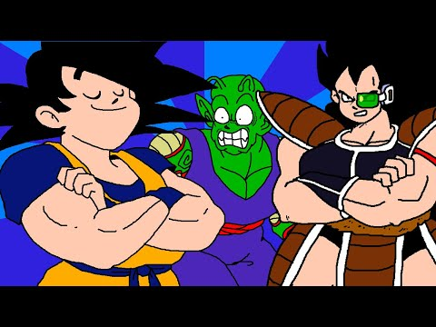 """""""Goku Meets Raditz"""" Preview Clip - COMING SOON to DVD, Blu-ray, digital, VCD, and VHS!"""