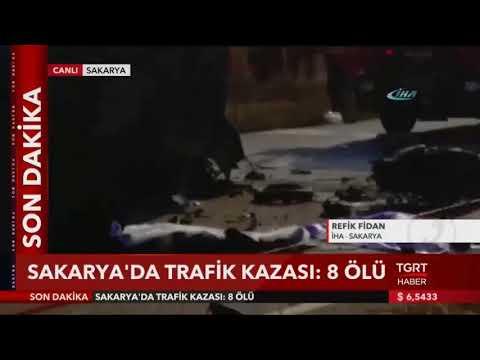 Video Sakarya'da Trafik Kazası: 8 Ölü download in MP3, 3GP, MP4, WEBM, AVI, FLV January 2017