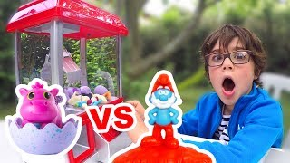 Video Les SCHTROUMPFS et LE VILLAGE PERDU vs HATCHIMALS CollEGGtibles - Qui gagnera ce NOUVEAU CHALLENGE ? MP3, 3GP, MP4, WEBM, AVI, FLV Mei 2017