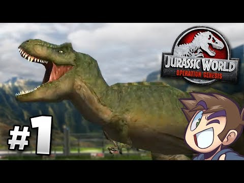 The Park Is Open! - Jurassic World Operation Genesis | Jurassic Month (видео)