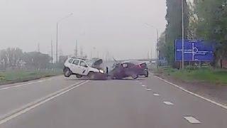 Жесткие аварии 4й недели Апреля