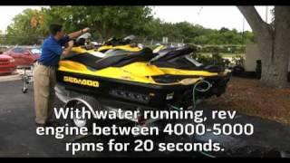 10. SeaDoo Engine Flush