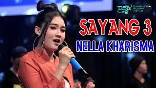 Download Lagu Nella Kharisma - Sayang 3 [OFFICIAL] Mp3
