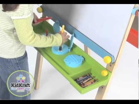 KidKraft Kunstenaarsezel met papierrol