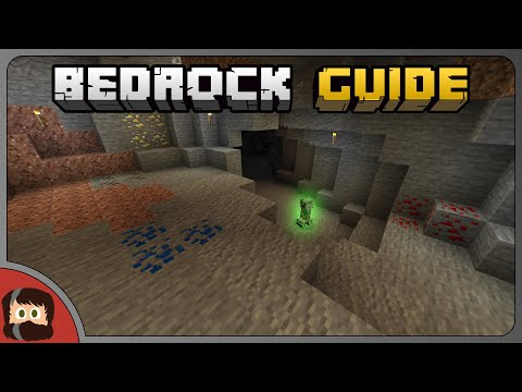 TOP Caving TIPS, First Trip | Bedrock Guide EP 03 | Tutorial Survival Lets Play | Minecraft