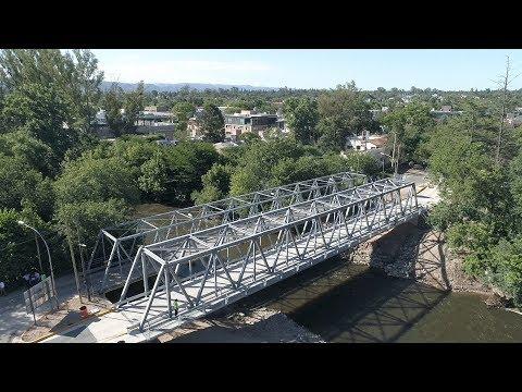 Schiaretti habilitó el nuevo puente Los Carolinos sobre el Suquía