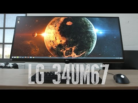 LG 34UM67-P Ultrawide Freesync Gaming Monitor: Tour & Review!