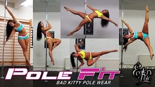 Pole Play in new PoleFit wear by Bad Kitty @ Ecole de Pole - YouTube