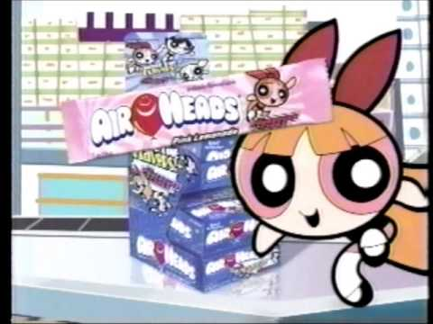 Powerpuff Girls Air Heads Commercial