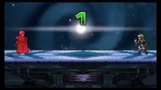 Smash Flash 2 – Marth combo on Link.