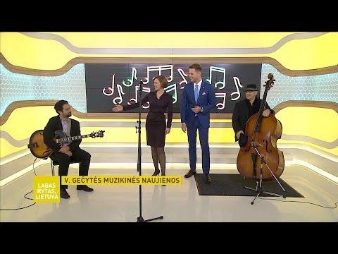 LRT Labas Rytas, Lietuva - Viktorija Gecyte Trio (2017) online metal music video by VIKTORIJA GEČYTE