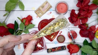 THCA, MOONROCK, CRUMBLE & APPLE FRITTER VALENTINES DAY ROLL UP!!!! by HighRise TV