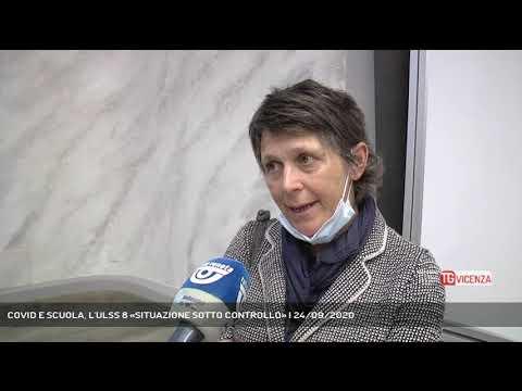 COVID E SCUOLA, L'ULSS 8 «SITUAZIONE SOTTO CONTROLLO» | 24/09/2020