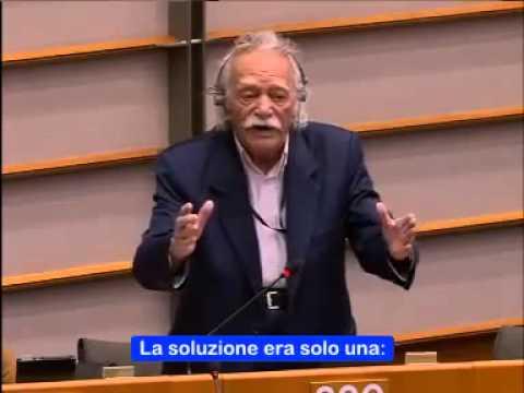 manolis glezos: ultimo discorso sulla grecia al parlamento europeo!