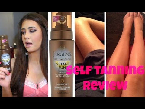 Holy Grail Self Tanner! Jergens Instant Sun Self Tanning Mousse