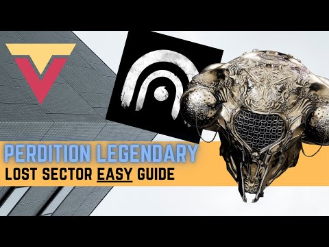 Perdition Legendary Lost Sector EASY Guide