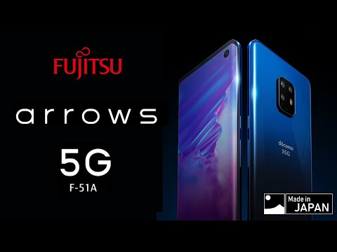fujitsu представила флагманский смартфон arrows snapdragon 865