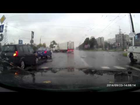 Жуткая авария в Питере