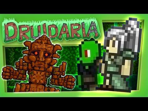 Terraria #73 - We Fight The Golem (видео)