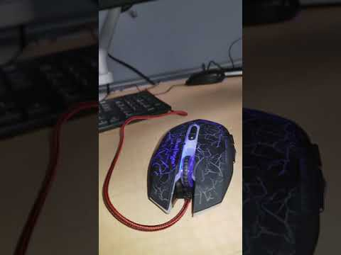 Bluefinger Mouse with left button partially stuck