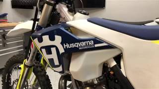 7. Why is this heavier than the KTM? 2018 Husqvarna TE250i True Riding Weight