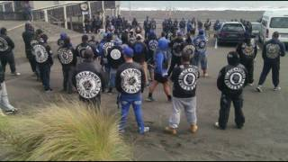 Gangs in New Zealand have come up with a novel way to curb violence, with members deciding to settle their differences with...