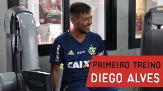 Diego Alves realizou exames e treinou pela primeira vez pelo Mais Querido---------------Seja sócio-torcedor do Flamengo: http://bit.ly/1QtIgYl---------------Inscreva-se no canal oficial do Flamengo. Vídeos todos os dias.--- Subscribe at Flamengo channel, a 40-million-fans nation. Join us!