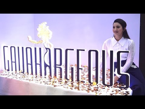 Gauhar Khan LAUNCHES her Fashion Brand GAUHARGEOUS